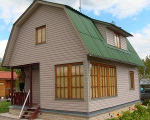 Дом с сайдингом