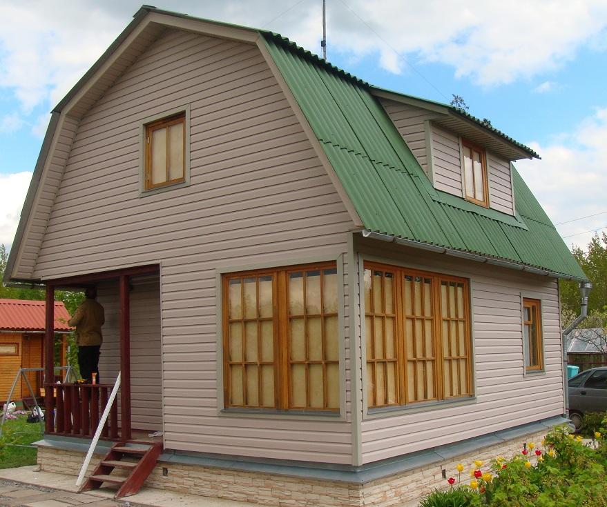 дом дача внешняя отделка фото