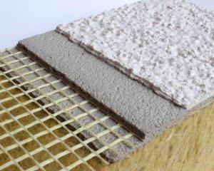 Пример мокрого фасада