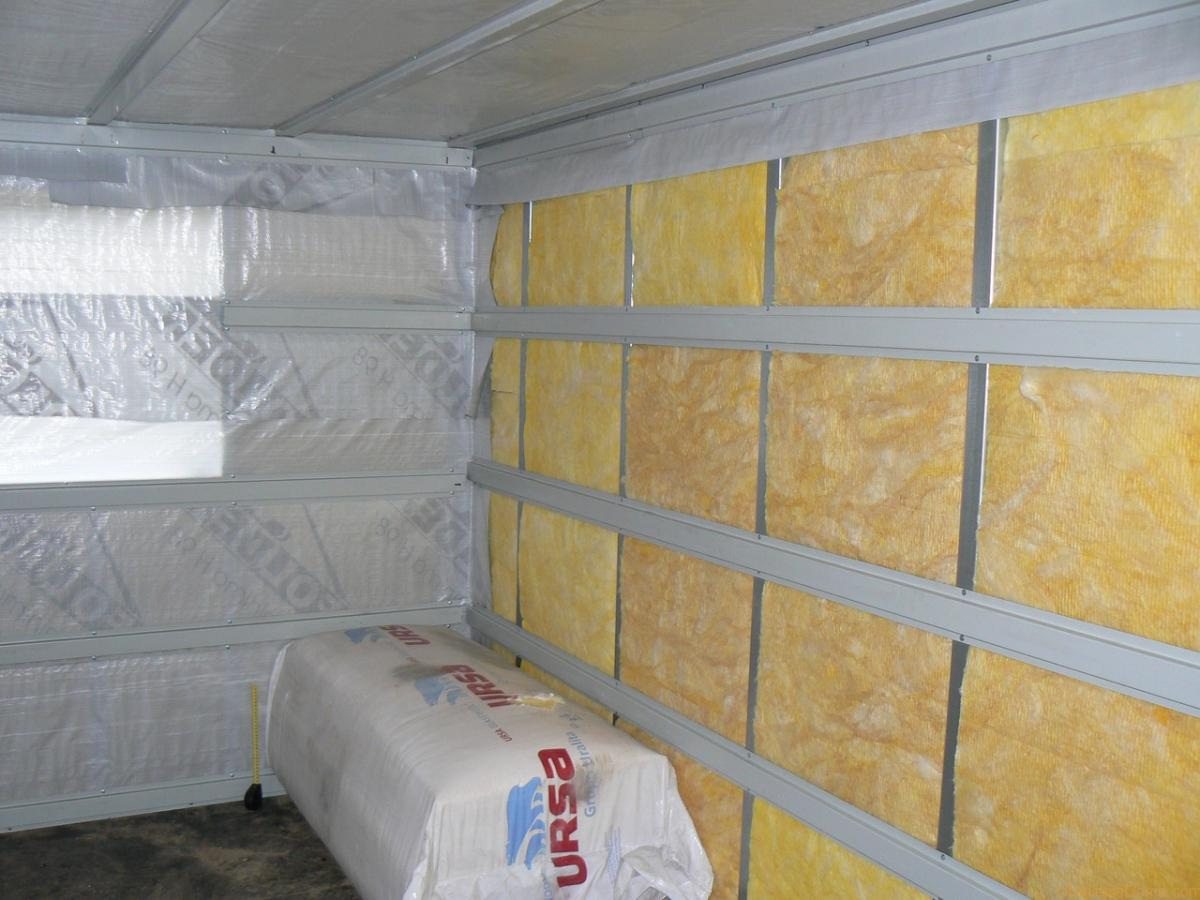 Материал для утепления стен внутри