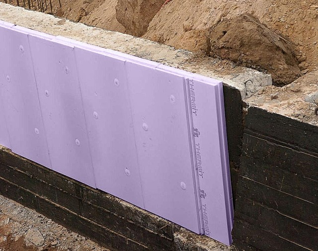 Утепление стен термитом