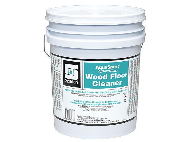 Aqua Sport Wood Flor Cleaner