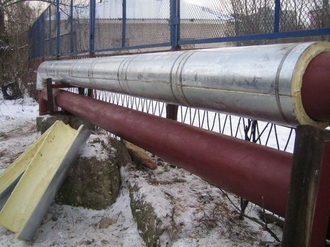 Теплоизоляция трубопровода
