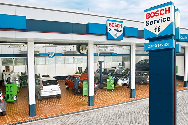Автомобильный сервисный центр Bosch