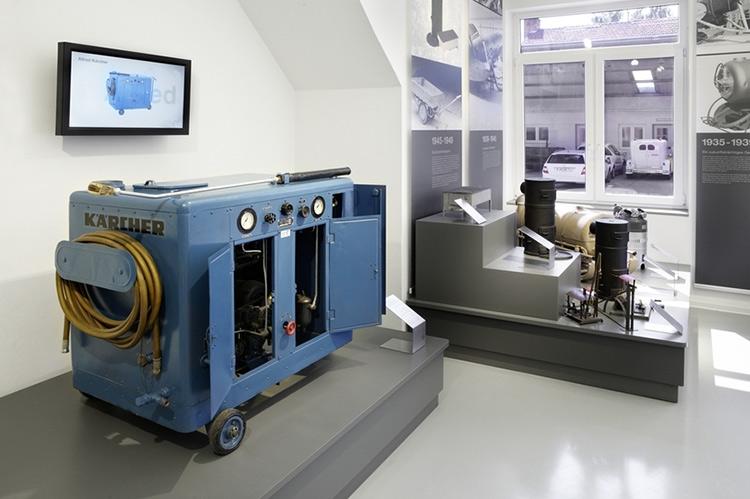 Первый европейский аппарат высокого давления для мойки горячей водой — KW 350