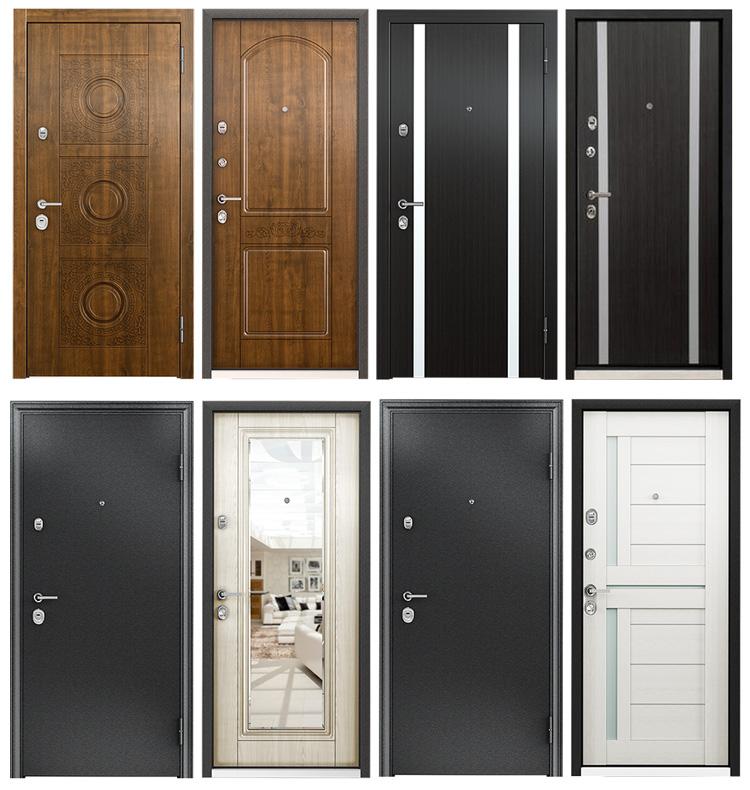 лучший вариант металлической двери
