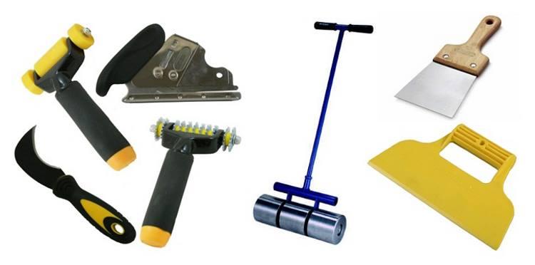 Инструменты для укладки пробкового пола