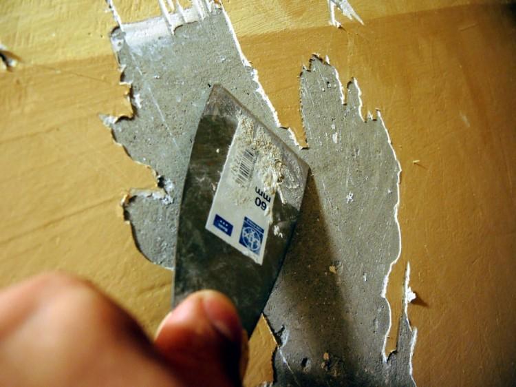 Удаление шпатлевки мастика для украшения ее приготовление
