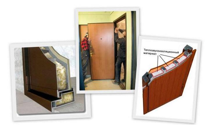 Шумоизоляция входной металлической двери своими руками