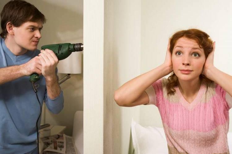 В какое время можно проводить шумные работы многокварирных домах