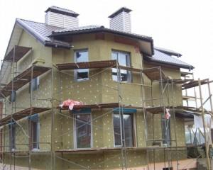 Фасадный утеплитель