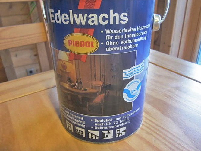 Банка Edel-wachs
