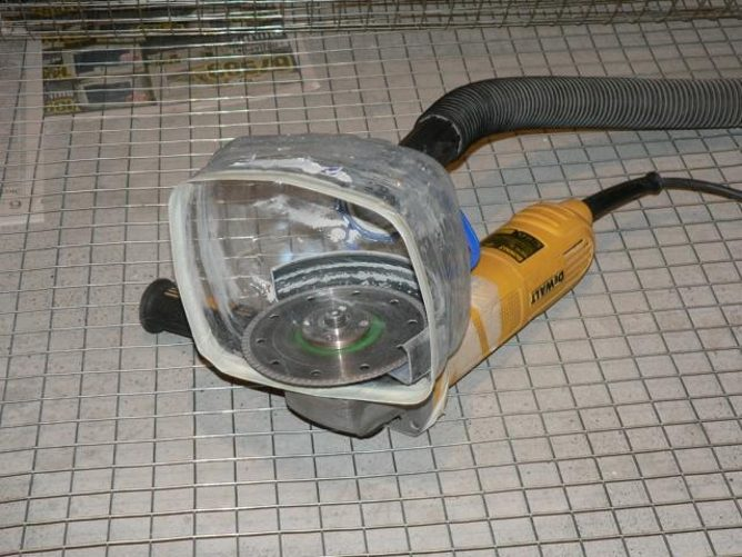 Как сделать пылесборник для болгарки